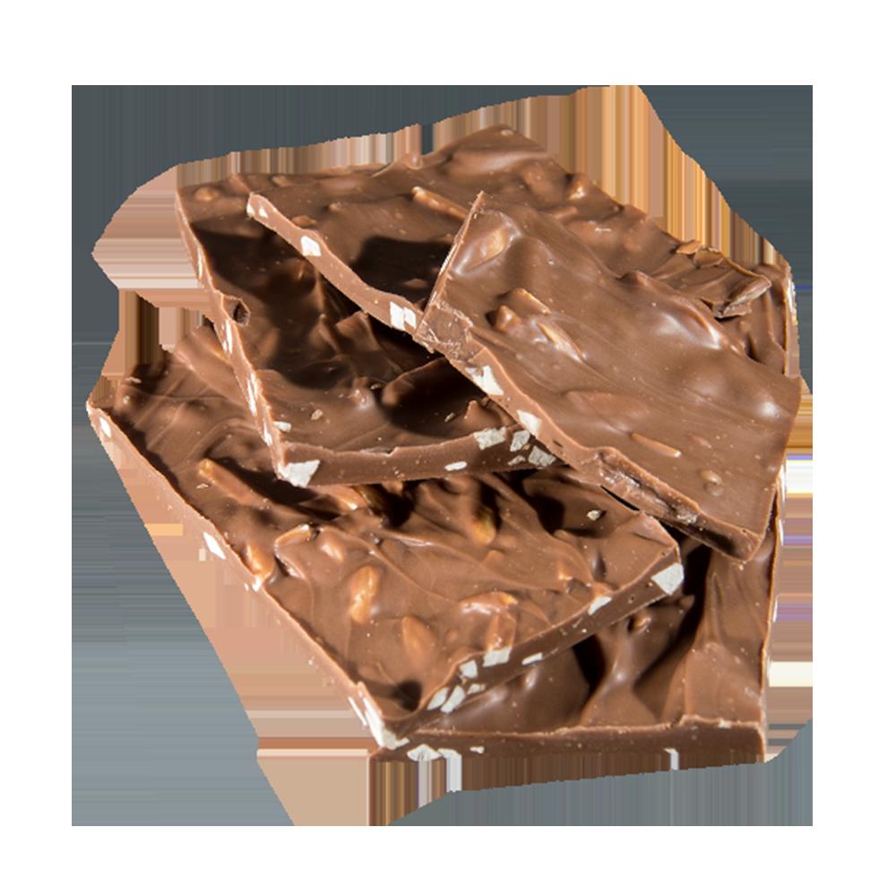 Vollmilch Schokolade mit Nuss