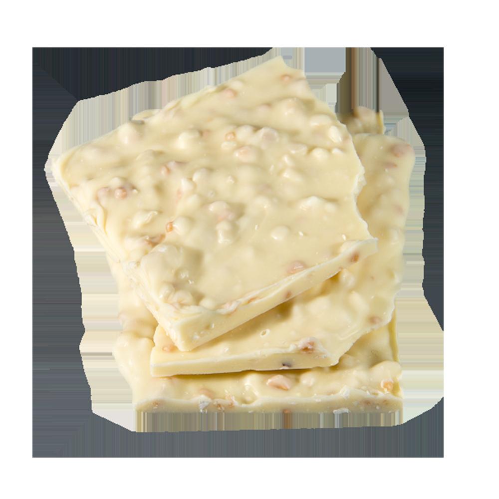 Weiße Schokolade mit Crisp